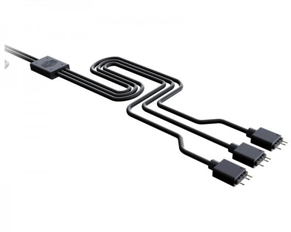 COOLER MASTER A-RGB 1-to-3 Splitter cable (MFX-AWHN-3NNN1-R)