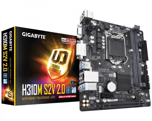 GIGABYTE H310M S2V 2.0 rev.1.0