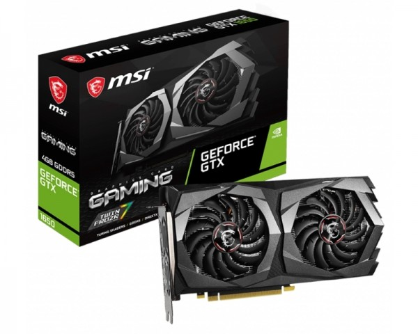 MSI nVidia GeForce GTX 1650 4GB 128bit GTX 1650 GAMING 4G