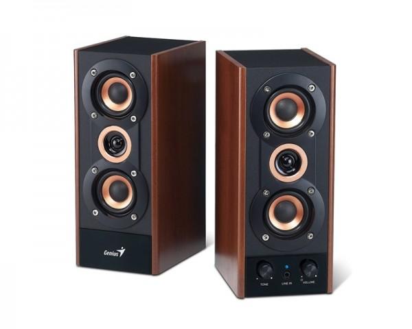 GENIUS SP-HF800A 2.0 wood zvučnici