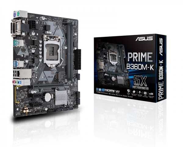 ASUS PRIME B360M-K