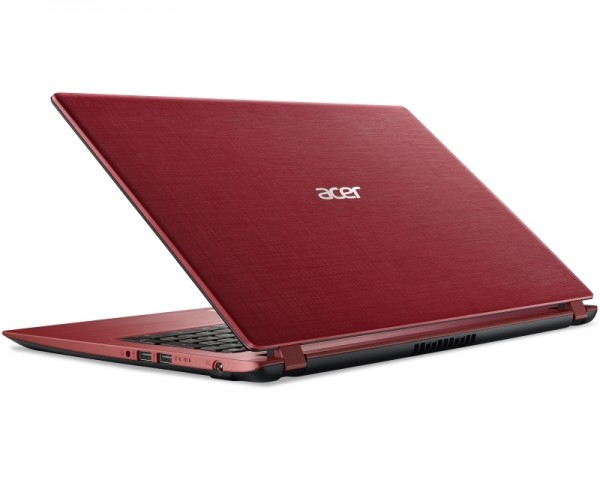 ACER Aspire A315-31-C167 15.6'' Intel N3450 Quad Core 1.1GHz (2.20GHz) 4GB 500GB crveni