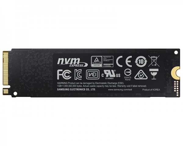 SAMSUNG 1TB M.2 NVMe MZ-V7E1T0BW 970 EVO Series SSD