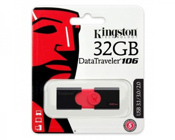 KINGSTON 32GB DataTraveler USB 3.1 flash DT10632GB