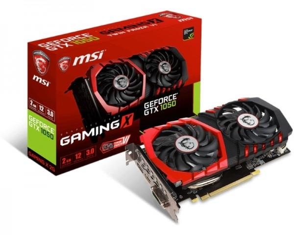 MSI nVidia GeForce GTX 1050 2GB 128bit GTX 1050 GAMING X 2G