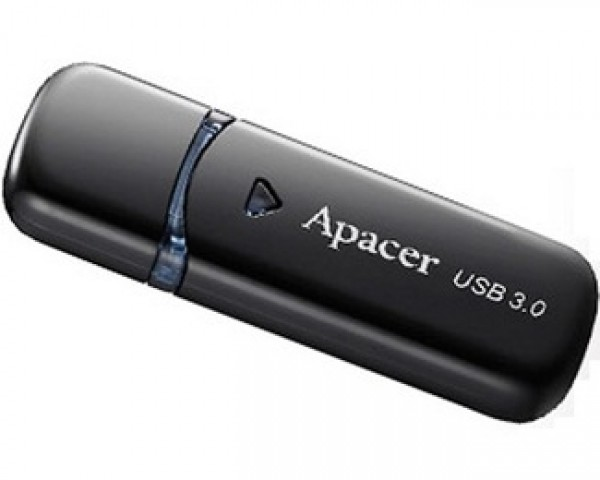 APACER 64GB AH355 USB 3.0 flash crni