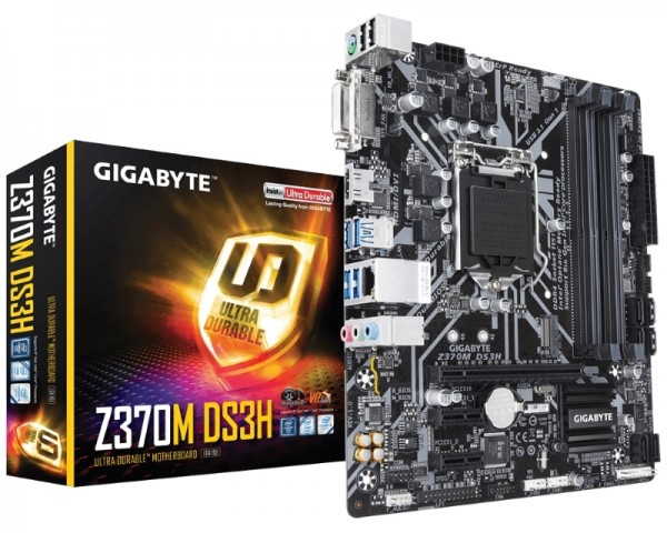 GIGABYTE Z370M DS3H rev. 1.0