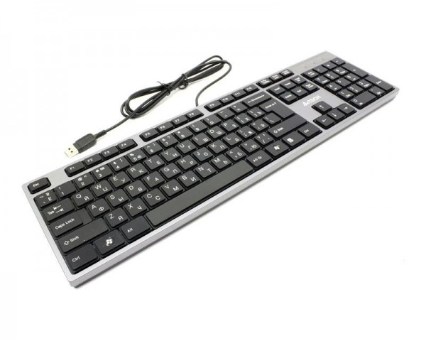 A4 TECH KD-300 X-Slim USB US crna tastatura