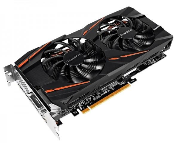 GIGABYTE AMD Radeon RX 580 8GB 256bit GV-RX580GAMING-8GD-MI rev.1.1 bulk