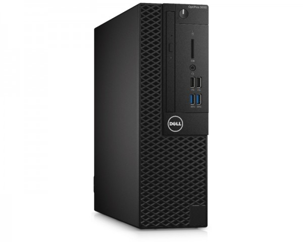 DELL OptiPlex 3050 SF i3-7100 4GB 128GB SSD DVDRW Win10Pro64bit 3yr NBD