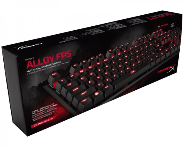 KINGSTON HX-KB1BR1-NAA2 HyperX Alloy FPS Mechanical Gaming tastatura