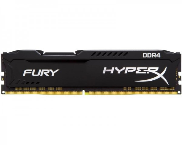 KINGSTON DIMM DDR4 8GB 2666MHz HX426C16FB28 HyperX Fury Black
