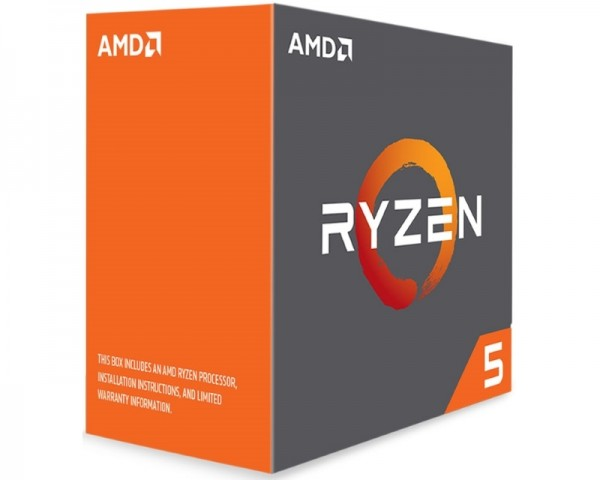AMD Ryzen 5 1600x 6 cores 3.6GHz (4.0GHz) Box