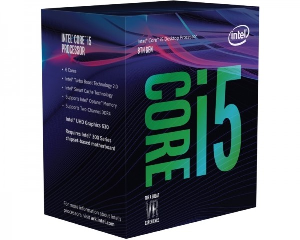 INTEL Core i5-8600 6-Core 3.1GHz (4.3GHz) Box