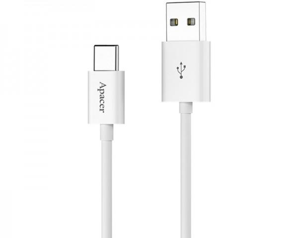 APACER Kabl Tip C - USB 2.0 Tip A DC110 beli