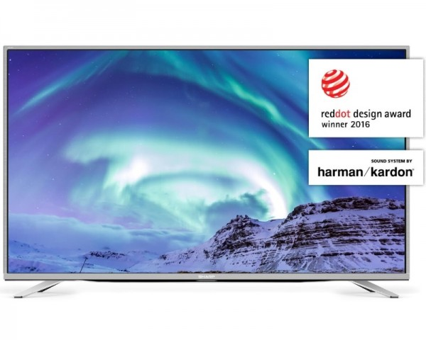 SHARP 55'' LC-55CUF8472ES Smart 4K Ultra HD digital LED TV