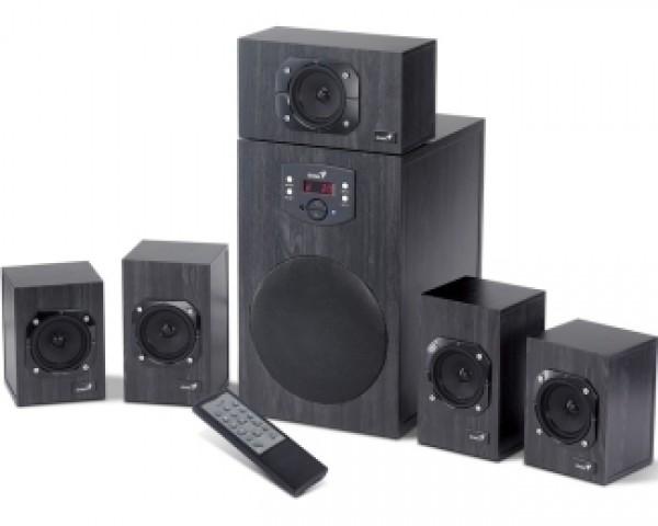 GENIUS SW-HF5.1 4500 5.1 wood crni zvučnici