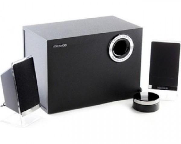 MICROLAB M200BT 2.1 crni zvučnici