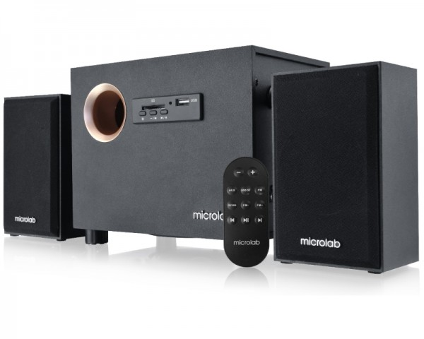 MICROLAB M105R 2.1 crni zvučnici