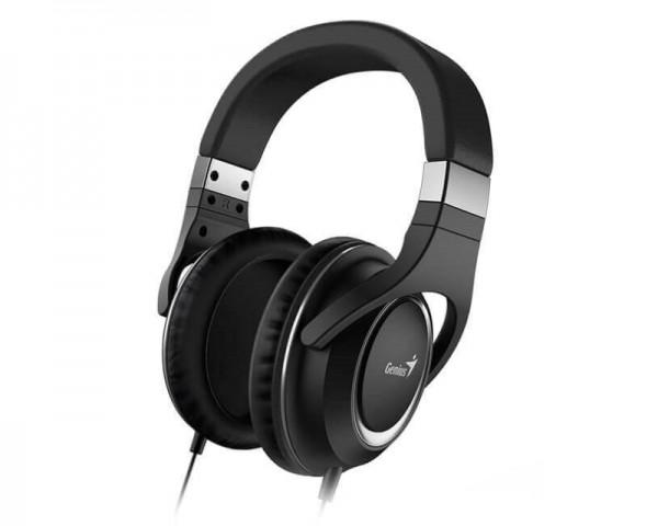 GENIUS HS-610 crne slušalice sa mikrofonom