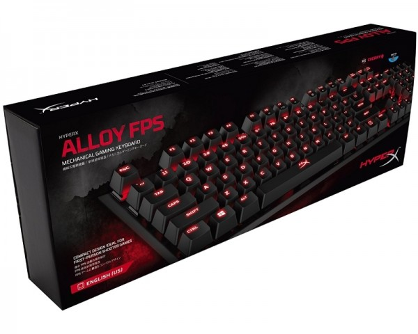 KINGSTON HX-KB1BL1-NAA2 HyperX Alloy FPS Mechanical Gaming tastatura