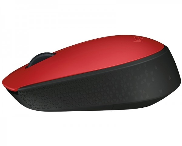 LOGITECH M171 Wireless crveni miš