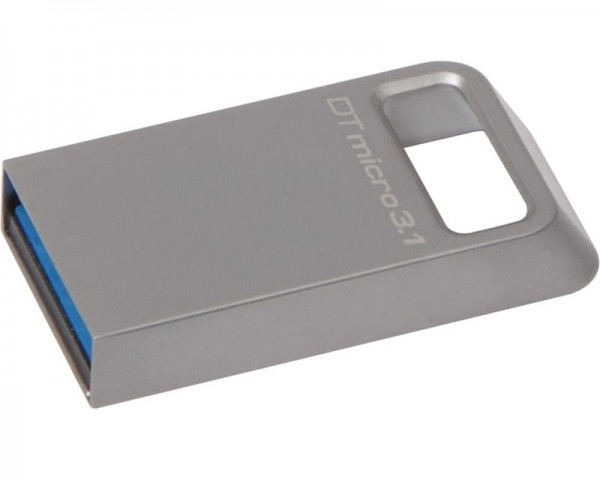 KINGSTON 128GB DataTraveler Micro USB 3.1 flash DTMC3128GB srebrni
