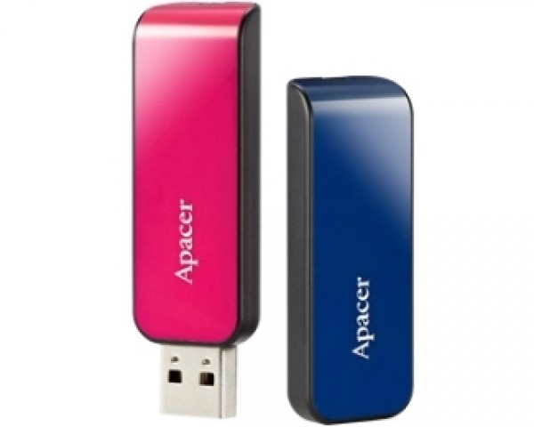 APACER 16GB AH334 USB 2.0 flash pink