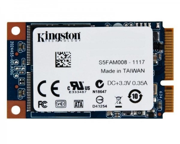 KINGSTON 480GB mSATA SMS200S3480G SSDNow mS200