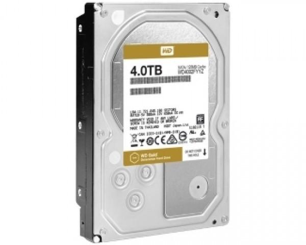 WD 4TB 3.5'' SATA III 128MB 7.200 WD4002FYYZ Gold