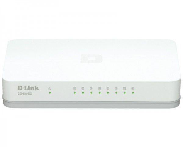 D-LINK GO-SW-8G 8port switch