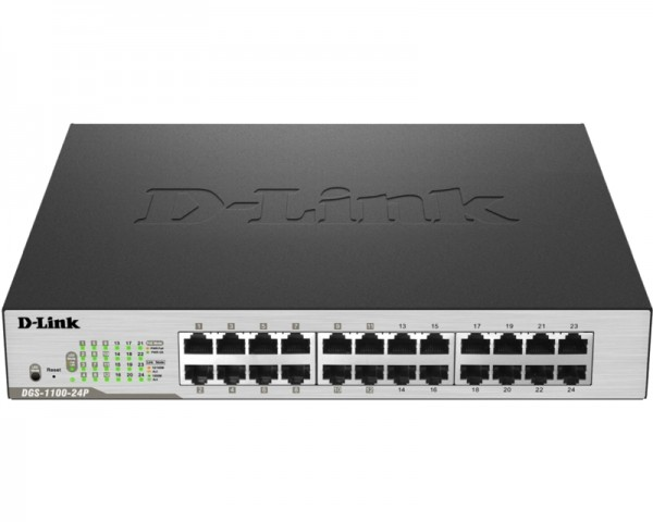 D-LINK DGS-1100-24P 24port EasySmart switch