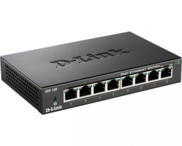 D-LINK DES-108 8port switch