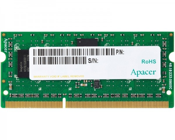 APACER SODIMM DDR3 8GB 1600MHz AS08GFA60CATBGJ