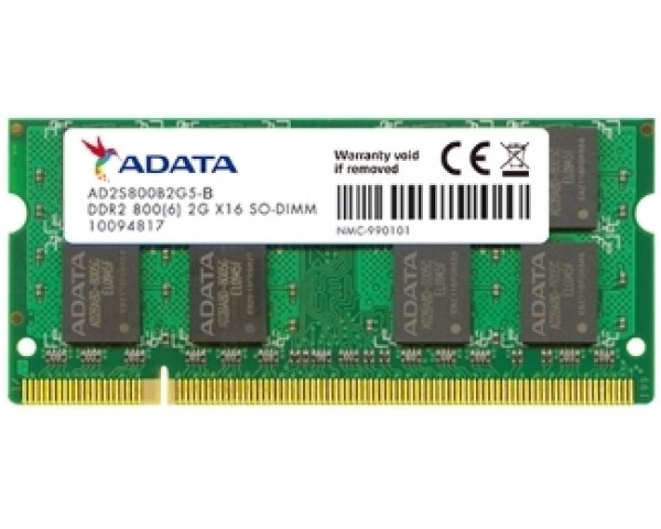 A-DATA SODIMM DDR2 2GB 800MHz AD2S800B2G6-B
