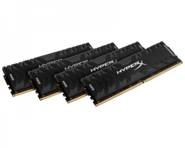 KINGSTON DIMM DDR4 64GB (4x16GB kit) 2666MHz HX426C13PB3K464 HyperX XMP Predator