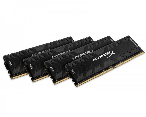 KINGSTON DIMM DDR4 64GB (4x16GB kit) 2400MHz HX424C12PB3K464 HyperX XMP Predator
