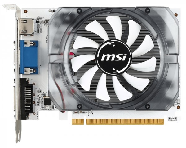 MSI nVidia GeForce GT 730 2GB 64bit N730K-2GD3OCV1