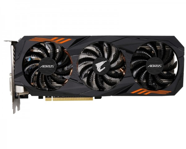 GIGABYTE nVidia GeForce GTX 1060 6GB 192bit GV-N1060AORUS-6GD rev.2.0