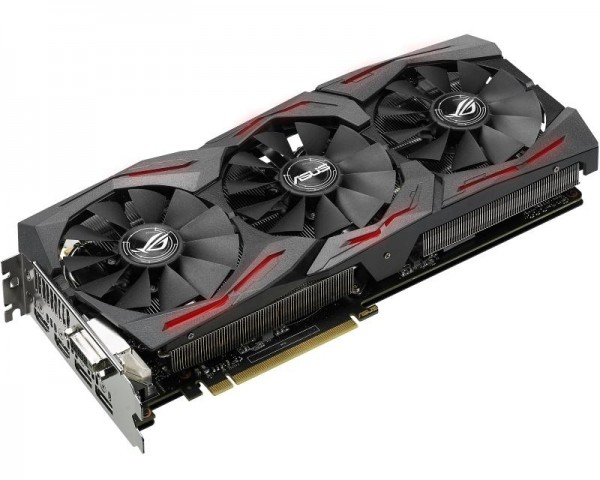 ASUS nVidia GeForce GTX 1060 6GB 192bit ROG STRIX-GTX1060-6G-GAMING