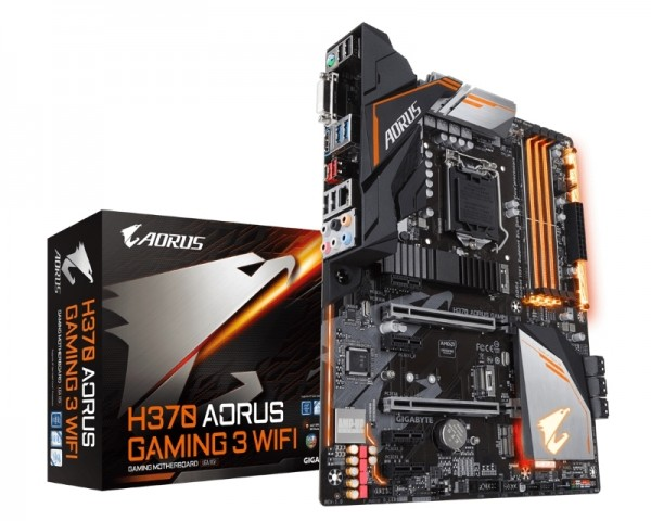 GIGABYTE H370 AORUS Gaming 3 Wifi rev.1.0