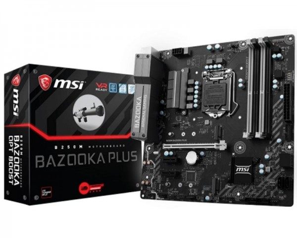 MSI B250M BAZOOKA PLUS + MSI Core Frozr L