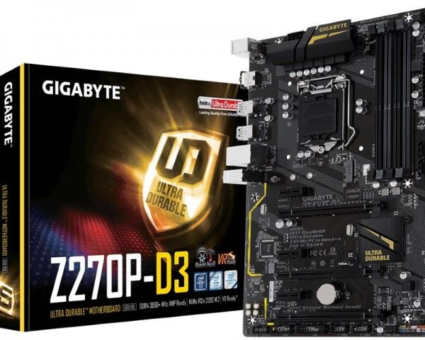 GIGABYTE GA-Z270P-D3 rev.1.0