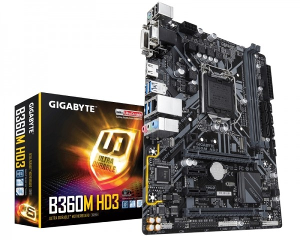 GIGABYTE B360M HD3 rev.1.0