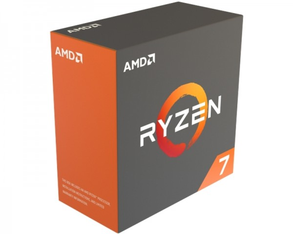 AMD Ryzen 7 1800X 8 cores 3.6GHz (4.0GHz) Box