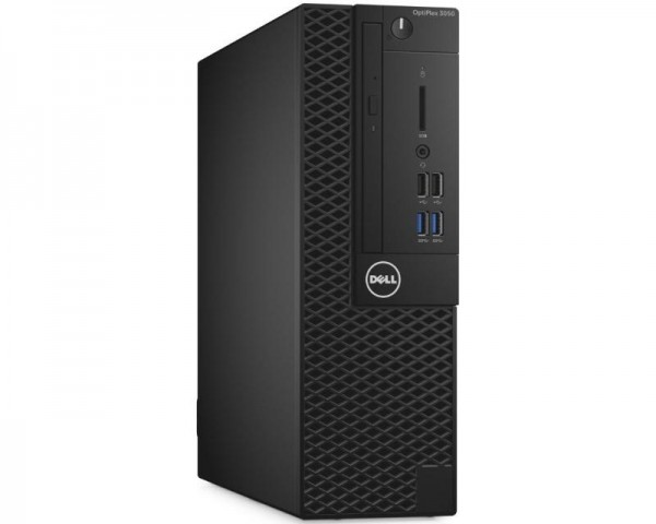 DELL OptiPlex 3050 SF i3-7100 4GB 128GB SSD DVDRW V Ubuntu 3yr NBD