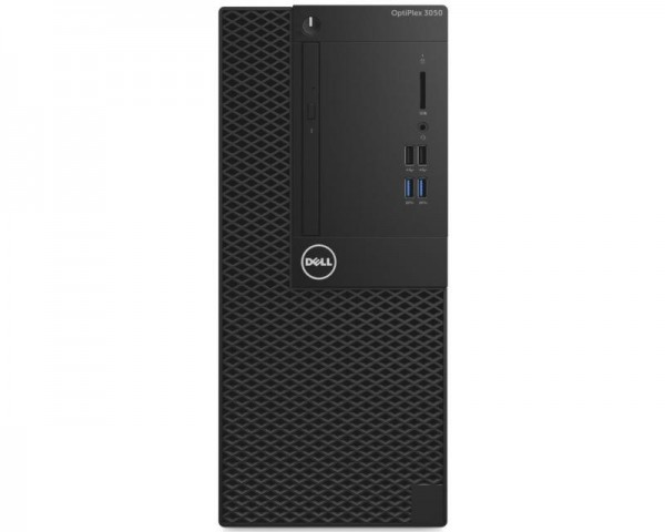 DELL OptiPlex 3050 MT i3-7100 4GB 500GB DVDRW V Win10Pro64bit 3yr NBD