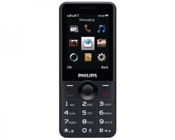 PHILIPS_ E168 Xenium Dual Sim black