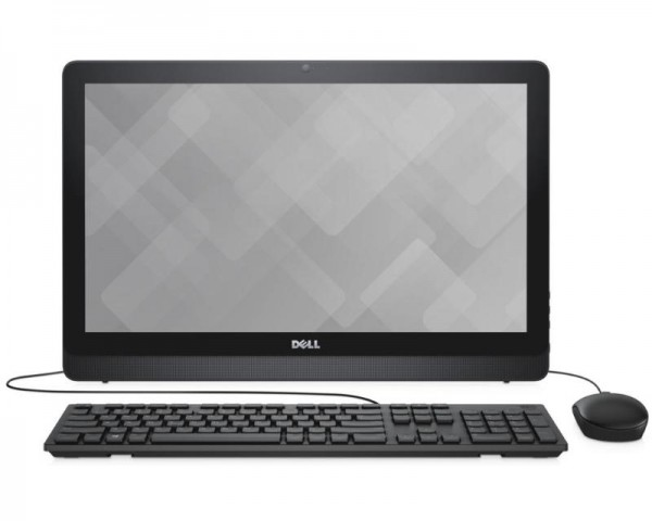 DELL Inspiron 22 (3264) 21.5'' FHD Core i3-7100U 2-Core 2.4GHz 4GB 1TB ODD Windows 10 Home 64bit crni + tastatura + miš