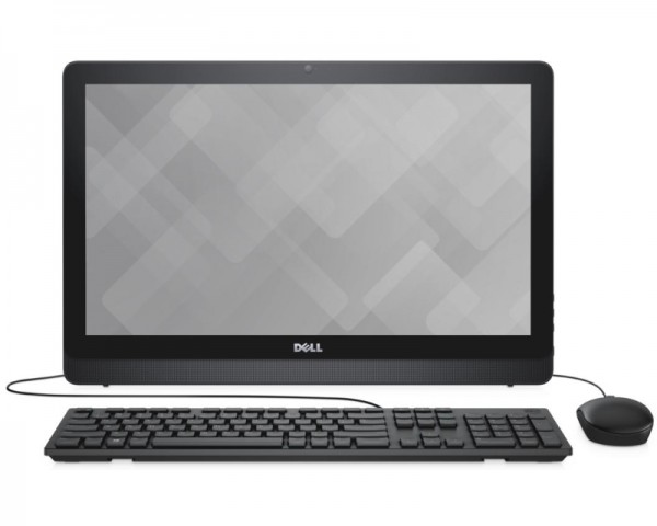 DELL Inspiron 22 (3264) 21.5'' FHD Intel Pentium 4415U Dual Core 2.3 8GB 1TB ODD Windows 10 Home 64bit crni + tastatura + miš